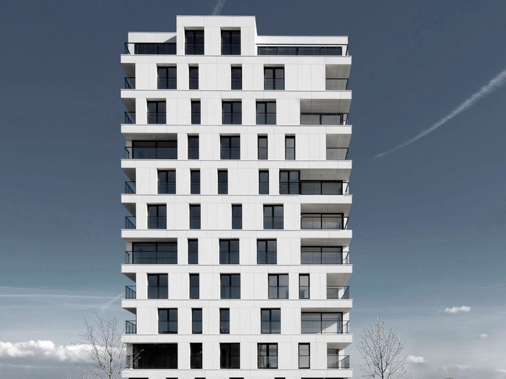 EQUITONE facade panel: EQUITONE facade panel:Temse - appartment building