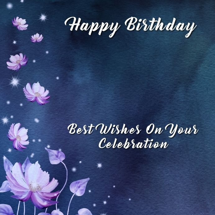 Birthday Instagram Template In 2021 Birthday Wishes Free Birthday Wishes First Birthday Outfits