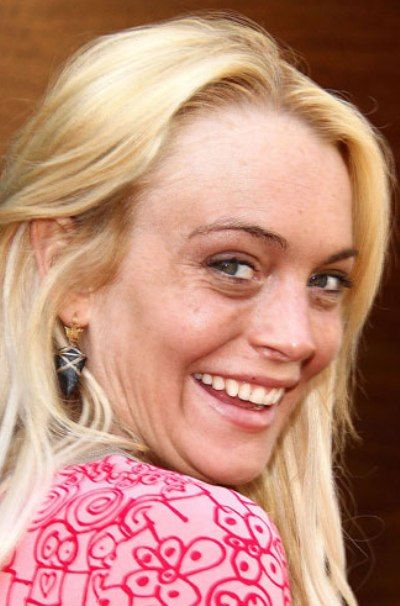 Lindsay Lohan Without Makeup Celebrity Without Makeup