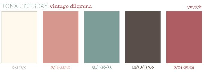 Dusty rose color pallete the perfect day in the making for Dusty rose wall color