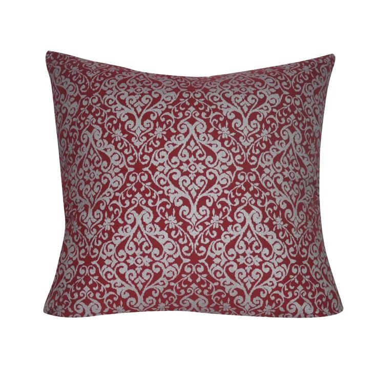 Loom and Mill 22 x 22-inch Damask Decorative Pillow , DP0126