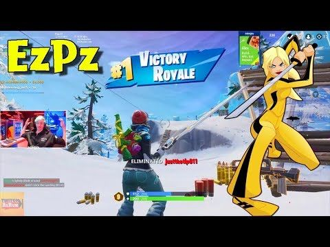 Ninja Infinity Blade Last Player Elimination 17 Kills Fortnite