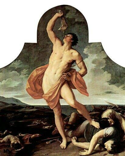Guido Reni, Sansone vittorioso. Bologna, Pinacoteca Nazionale