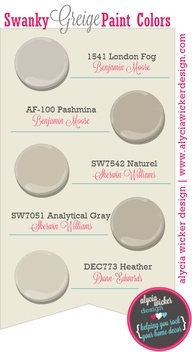 33 Best Greige Paints I Like Images On Pinterest Wall