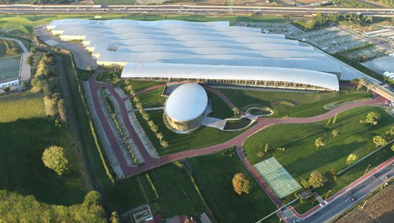2012: On September 29 the new facility is inaugurated: The Technogym Village - The Wellness Campus. #Technogym30years