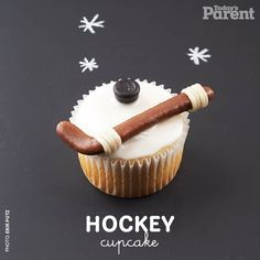 Find out how to create this hockey cupcake. It's a cinch (we promise).