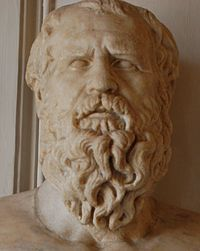 Heráclito de Éfeso conocido también como «El Oscuro de Éfeso», fue un filósofo griego. Nació hacia el año 535 a. C. y falleció hacia el 484 a. C.