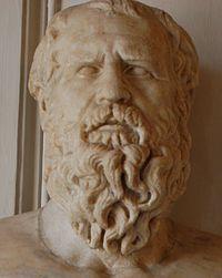 Heráclito de Éfeso fue un filósofo griego. Nació hacia el año 535 a. C. y falleció hacia el 484 a. C. Era natural. de Éfeso, ciudad de la Jonia, en la costa occidental del Asia Menor. Como los demás filósofos anteriores a Platón, no quedan más que fragmentos de sus obras, y en gran parte se conocen sus aportes gracias a testimonios posteriores.