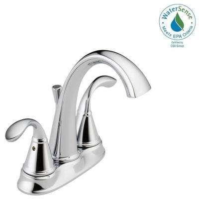 Zella 4 In Centerset 2 Handle Bathroom Faucet In Chrome Bathroom Faucets Lavatory Faucet Faucet
