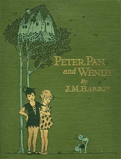 Peter Pan + lovely illustrations by Mabel Lucie Attwell