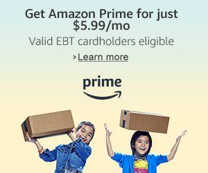 Prime special for qualifying customers