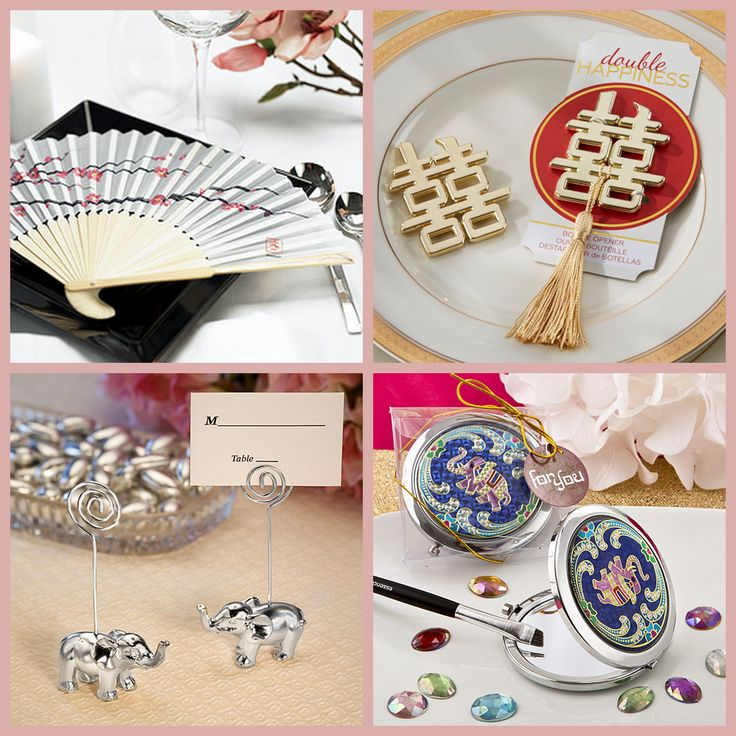 Asian Wedding Favors from HotRef.com