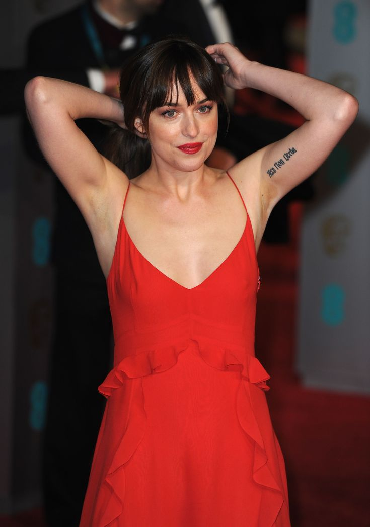 Image Of Sexy And Hot Dakota Johnson  Sexy Armpit -6764