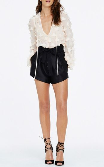 Alice McCall In Bloom Blouse $240, Bowie Shorts $190