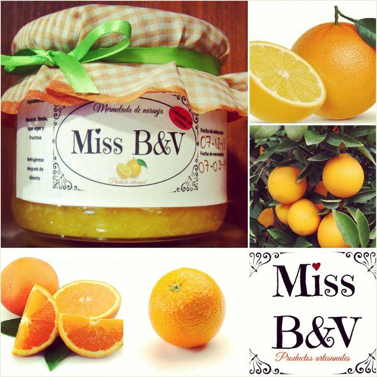 ¿Te gusta la naranja? Prueba entonces nuestra rica mermelada de naranja. #SinAzucar #Fructosa #Mermelada #SinRemordimiento