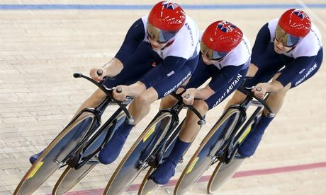 Team GB 2012: Jo Rowsell, Laura Trott and Dani King rewrite Olympic cycling history.  British women's pursuit team broke the world record for the sixth successive time on their way to the gold medal but their personal battles are among the most touching in British sport