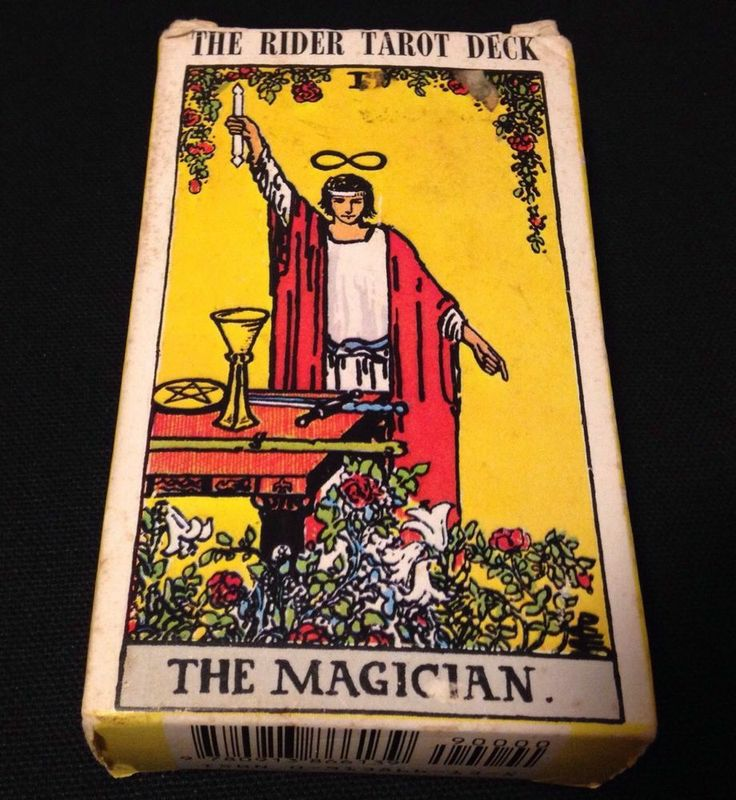 VINTAGE 1971 THE RIDER TAROT DECK 78 CARDS INSTRUCTIONS