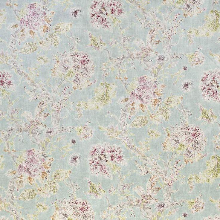 Warwick Fabrics : WOODBURY DUCK EGG