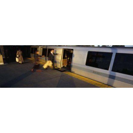 Bay Area Rapid Transit Oakland California USA Canvas Art - Panoramic Images (36 x 12)
