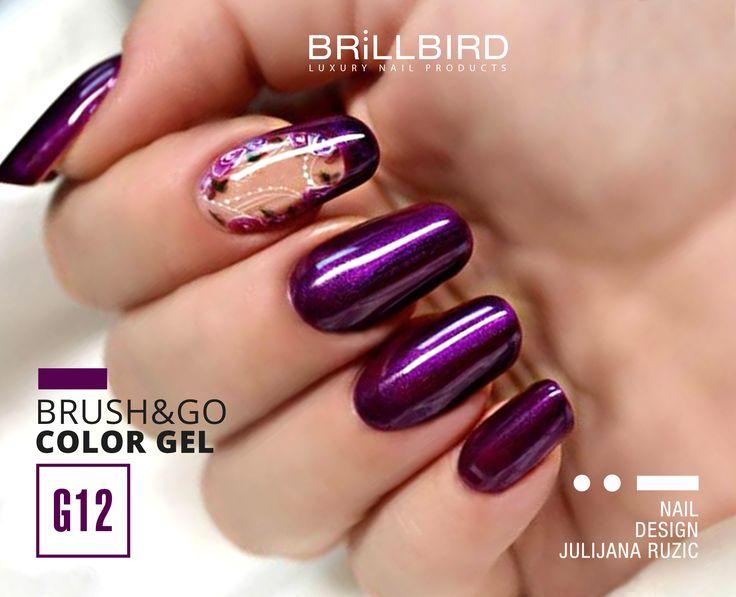 Gelul Bursh&Go îți ușurează munca,cu economisirea timpului și a materialului  http://brillbird.ro/categorie-produs/gel_lac_system/brushgo-gellac/brushgo_gellac_color/