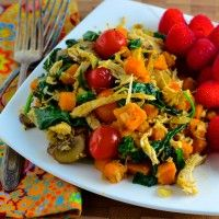 FMD P3 Sweet Potato and Turkey Hash
