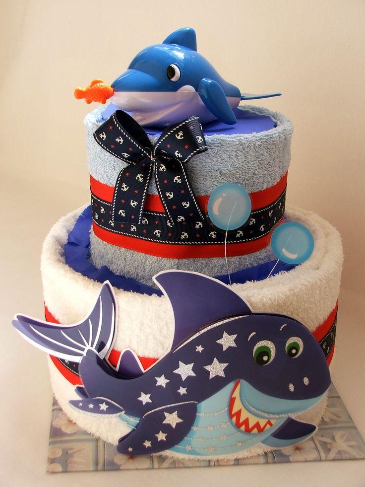 Plienková torta Pre malého námorníka