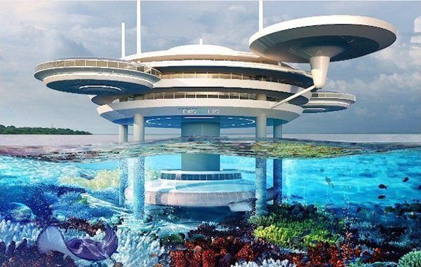 The Water Discus Hotel, planned to open in Dubai, is betting you'll want to stay in an underwater room.