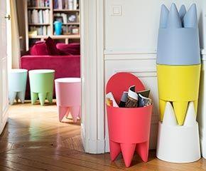 Bubu by Philippe Starck rakásolható kisszék