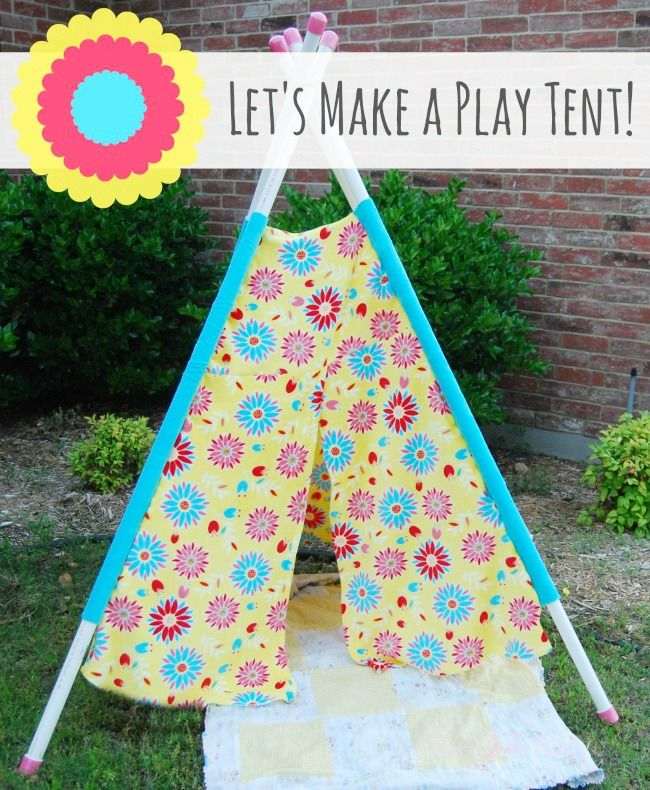 DIY Play Tent for your kids