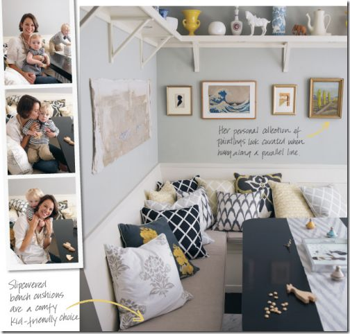Always loved grey and yellow but I'm loving the gray, navy blue, and yellow. . . .