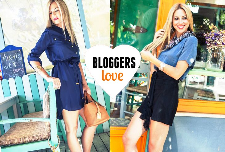 Bloggers wearing Folli Follie!