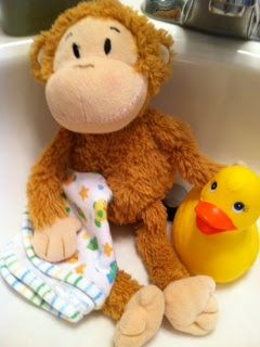 How to safely clean a non machine washable stuffed animal!
