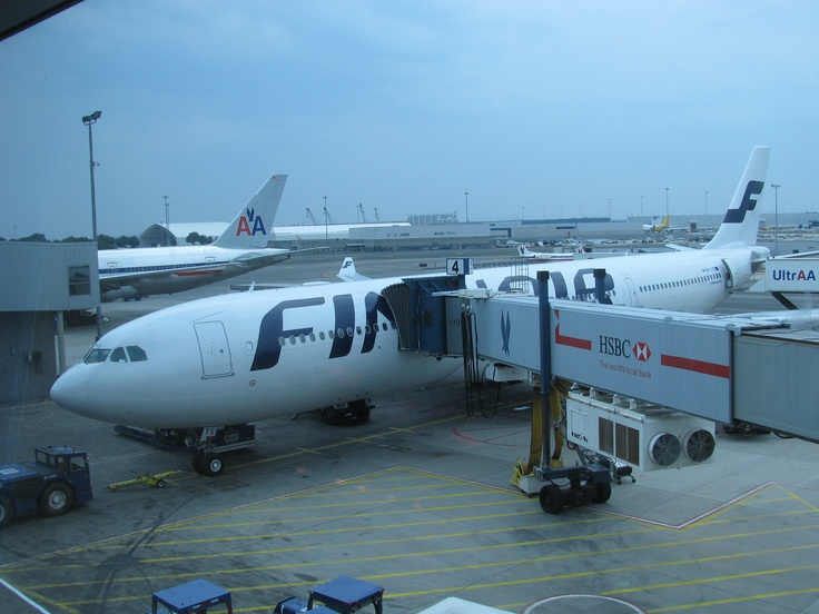 Waiting in JFK