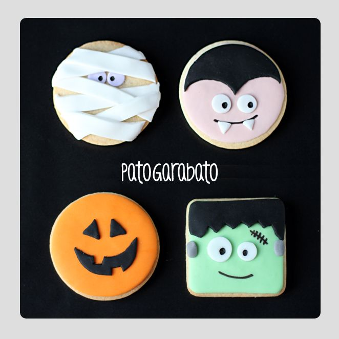Halloween cookies / Galletas Halloween