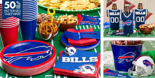 NFL Buffalo Bills Party Supplies - Party City