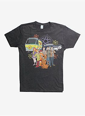6e4d7cace ScoobyNatural Group T-Shirt in 2019 | I want | Supernatural outfits ...