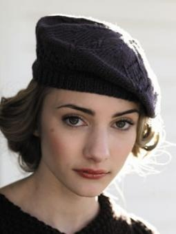Meret Beret Knitting Pattern : 88 best images about Berets on Pinterest Vintage style, Carolyn jones and W...