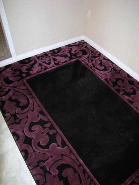 purple damask rug for - photo #19