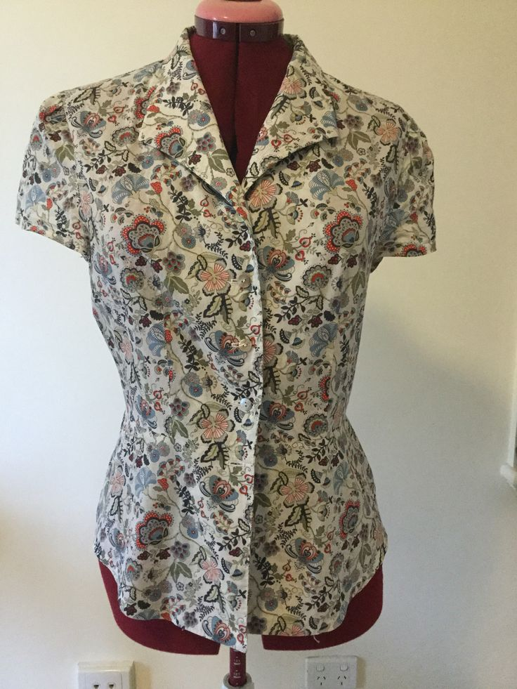 McCall pattern 6122 using Liberty #myliberty