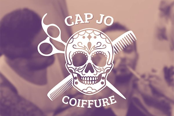 Cap Jo Coiffure (Barber) by Guillaume Leurident, via Behance