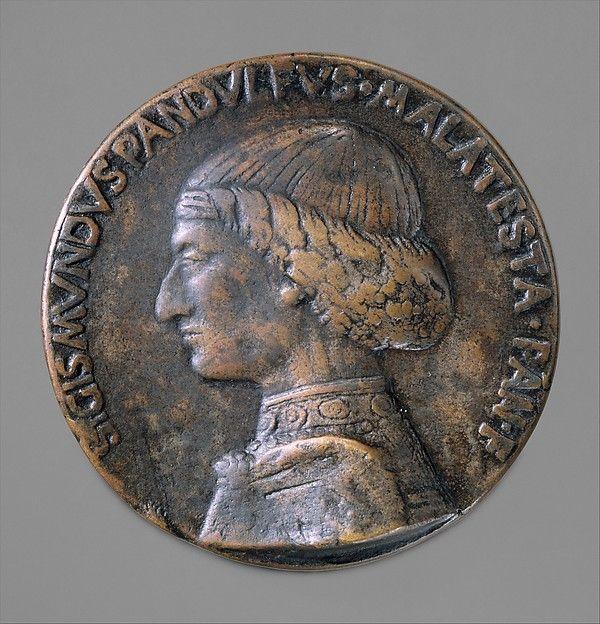 Sigismondo Pandolfo Malatesta (1417-1468)  Medal by Matteo de' Pasti, 1454-60 (cast 19th century)