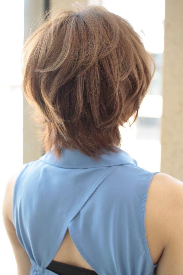 [Hair記事]勇気出してショートボブにしたらふんわりさせなきゃ! 2012 ショート ボブ | 美容室AFLOAT Xel-Ha/JAPAN 前原穂高ブログ  (アフロートシェルハ/ジャパン)青山.表参道.銀座