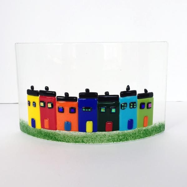 Image result for Jelly Bean Row House glass