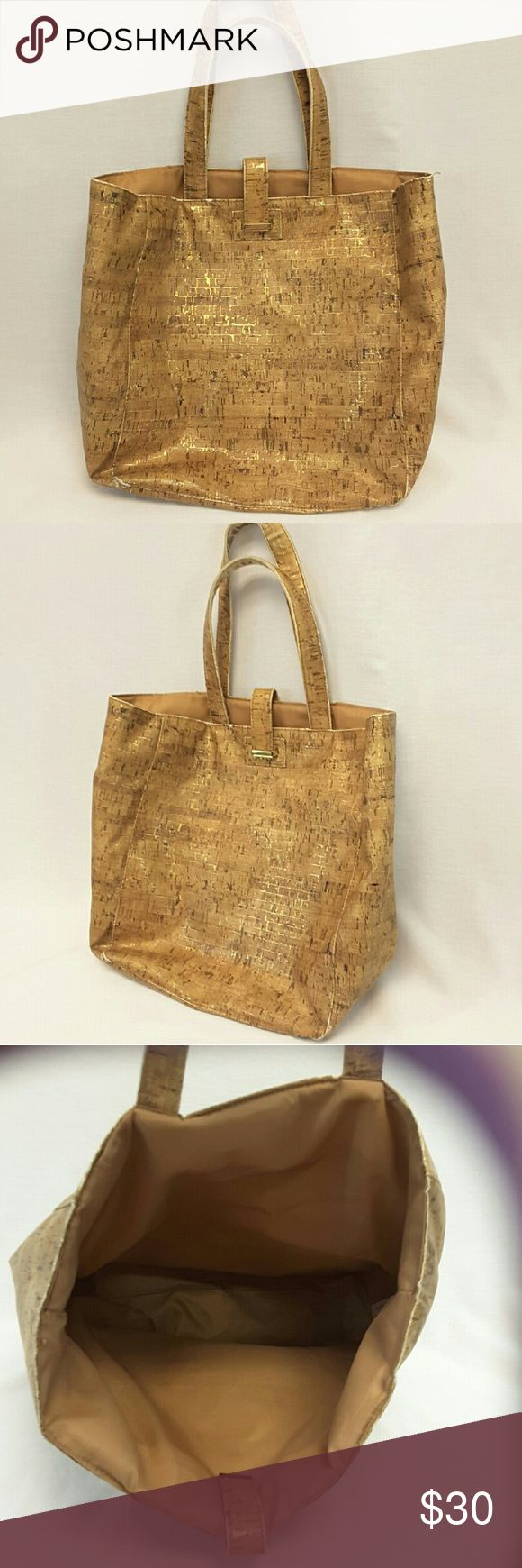 """40% BUNDLE DISCOUNT! FREE SHIPPING ON BUNDLES!! ESTEE LAUDER Handbag Tote, sparkling woodgrain pattern, lightweight, washable, slight wear on inside handles and bottom edges not visible (see pic #4),  approximate measurements: 10"""" length, 6"""" wide, 12.5"""" tall. 40% BUNDLE DISCOUNT! FREE SHIPPING ON BUNDLES!! ?OFFER? $6 LESS ON BUNDLES! Price firm unless Bundled. Only ?offers? of $6 less on Bundles for shipping reimbursement. Estee Lauder Bags Totes"""