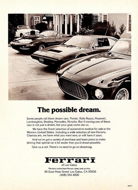 Ferrari - The possible dream.