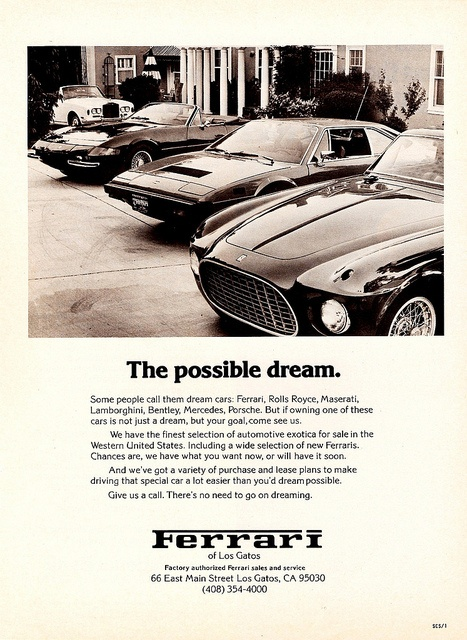 Ferrari - The possible dream.