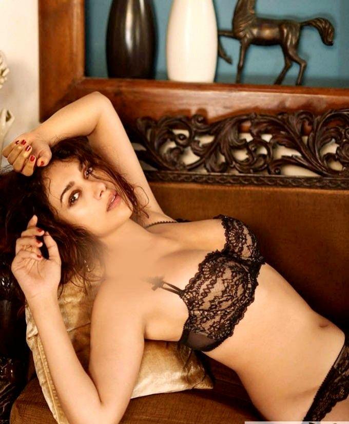 Aditi Rao Hydari Spicy Transparent Bikini