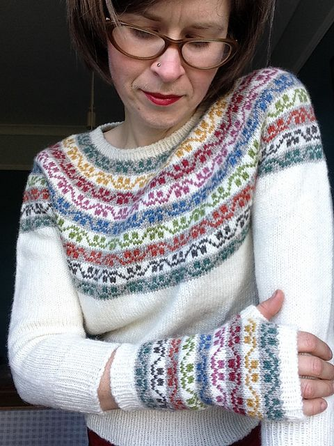 Ravelry: greenhousegirl's Miss Rachel's Yoke