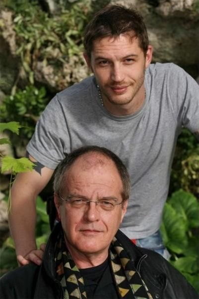 Tom Hardy & his dad Chips -c.2003
