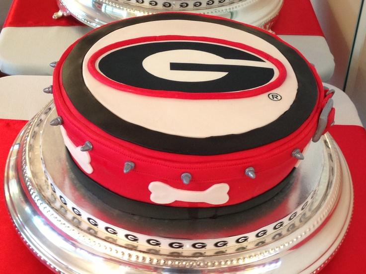 Cake Art Ga : 36 best images about Georgia Bulldogs Birthday Party on ...